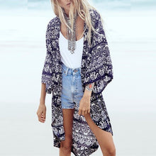 Kate 3/4 Sleeve Kimono Cover Up