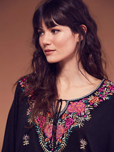 Siren Vintage Embroidery  Top