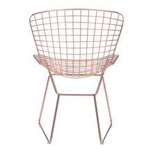 Wire Dining Chair Rose Gold (Set of 2)
