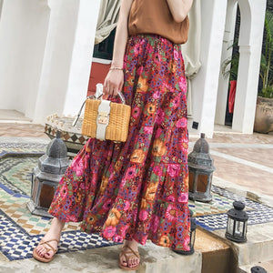 Gypsy Daisy Blouse & Skirt