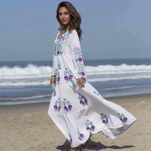 Lara Embroidered Maxi Dress