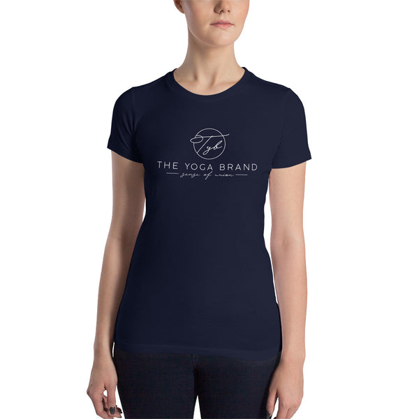 Women's Slim Fit T-Shirt With  The Yoga Brand Logo