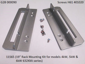 "19"" Rack Mounting Kit for model 4kW, 5kW & 6kW 63200A (4U)"