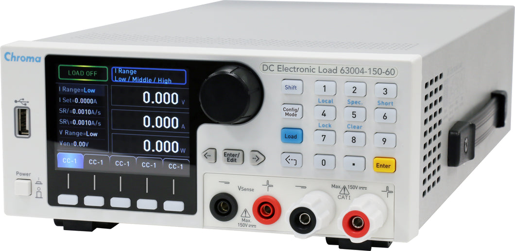 Benchtop DC Electronic Load 150V/60A/350W