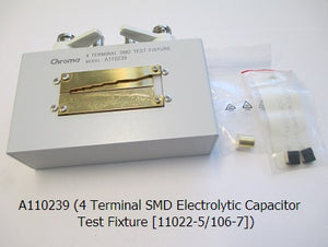 4 Terminal SMD Electrolytic Capacitor Test Fixture [11022/11025]