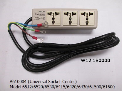 Universal Socket Center  (1 phase<15A)