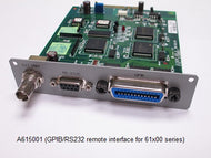 GPIB/RS232 Interface  [61500/61600/61700]