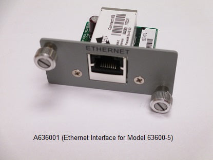 Ethernet Interface  [63600]