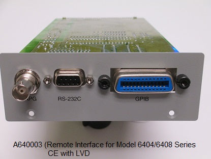 GPIB/RS232 Interface Card  [6404/6408]