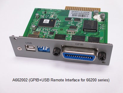 GPIB+USB Remote Interface  [66201, 66202]