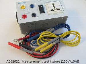 Measurement test fixture (250V/10A) [66205]