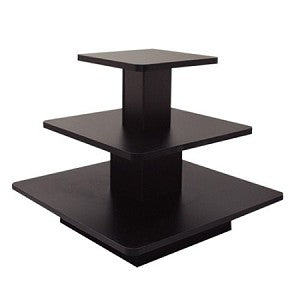3 TIER DISPLAY TABLES - SQUARE,OVAL,RECTANGLE