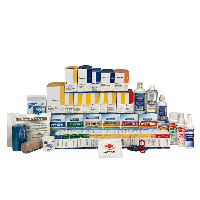 5 Shelf Class B+, First Aid Kit Refill, with Meds