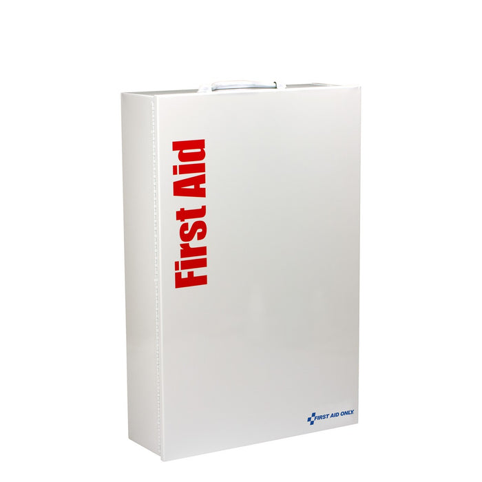 200 Person XXL Metal SmartCompliance ANSI B+ First Aid Cabinet With Meds