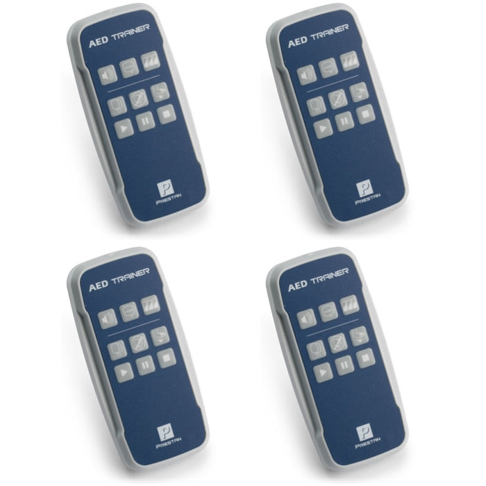 Prestan Professional AED Trainer Remotes 4-Pack