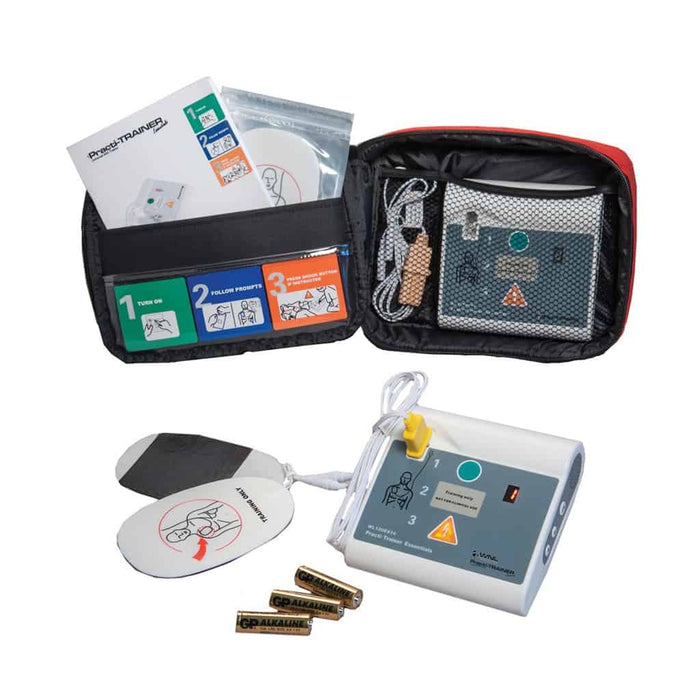 WNL AED Practi-Trainer with Bi-Lingual Plug-In Module - 4 PACK