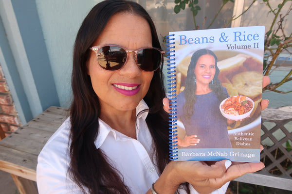 Preorder Cookbook | Beans & Rice Vol II | Authentic Belizean Dishes