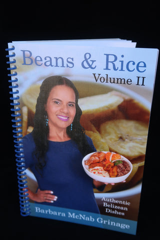 New Cookbook | Beans & Rice Vol II | Authentic Belizean Dishes