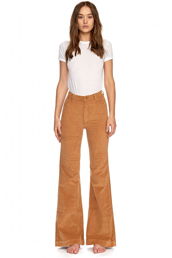 Eastcoast Flare Tan Cord-Pants-Rolla's-UPTOWN LOCAL