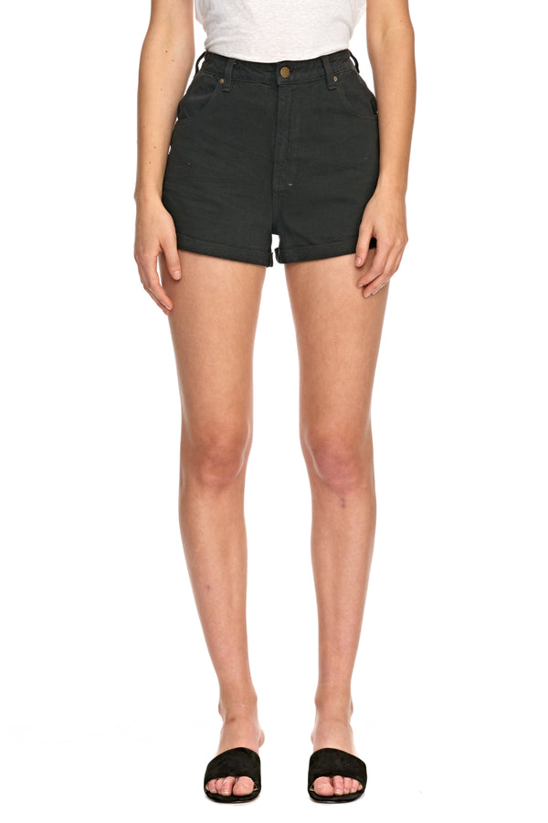 Dusters Short Black Dust-Shorts-Rolla's-UPTOWN LOCAL