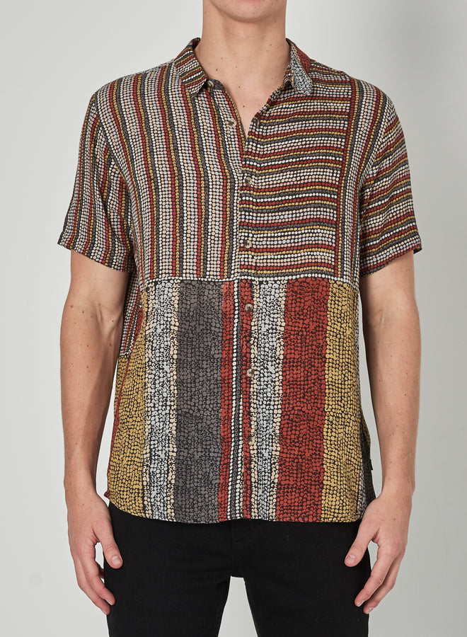 Bon Shirt Westley Dots Multi-Shirts-Rolla's-S-UPTOWN LOCAL