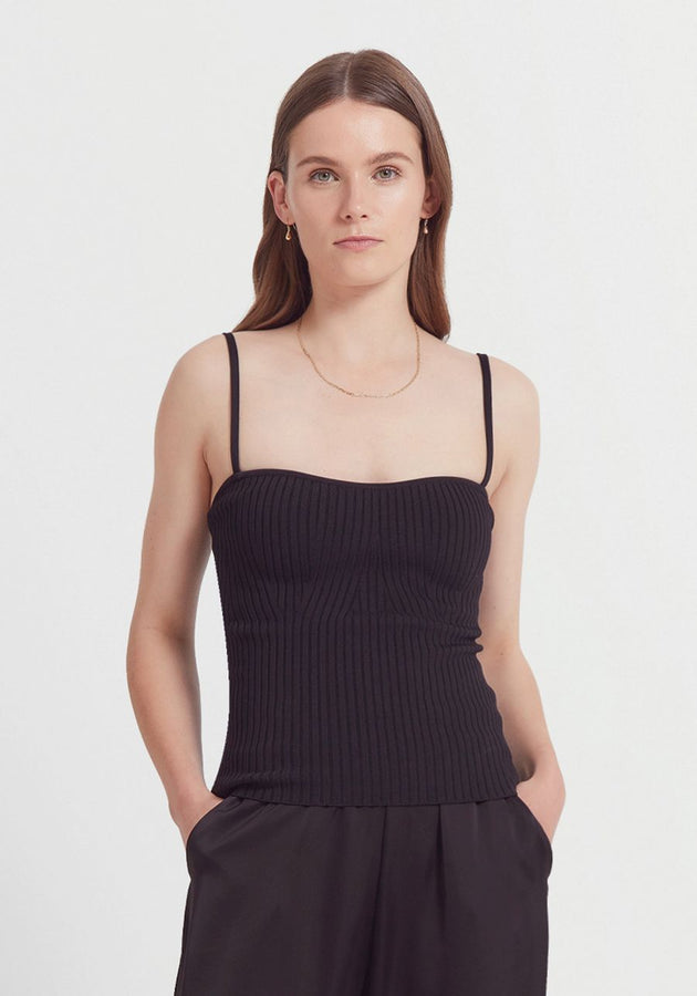 Palace Bustier Black-tops-Viktoria and Woods-0-UPTOWN LOCAL