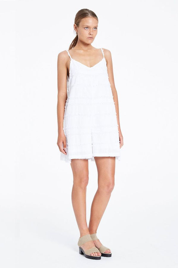 Clearing Playsuit White