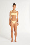 Sundeck Bralette Bikini - Banana-Swimwear-Zulu and Zephyr-6-UPTOWN LOCAL