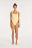 Sundeck Onepiece - Banana-Swimwear-Zulu and Zephyr-6-UPTOWN LOCAL