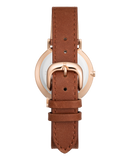 The Classic - Rose Gold / Soft Pink / Tan Leather-Watch-The Horse-UPTOWN LOCAL