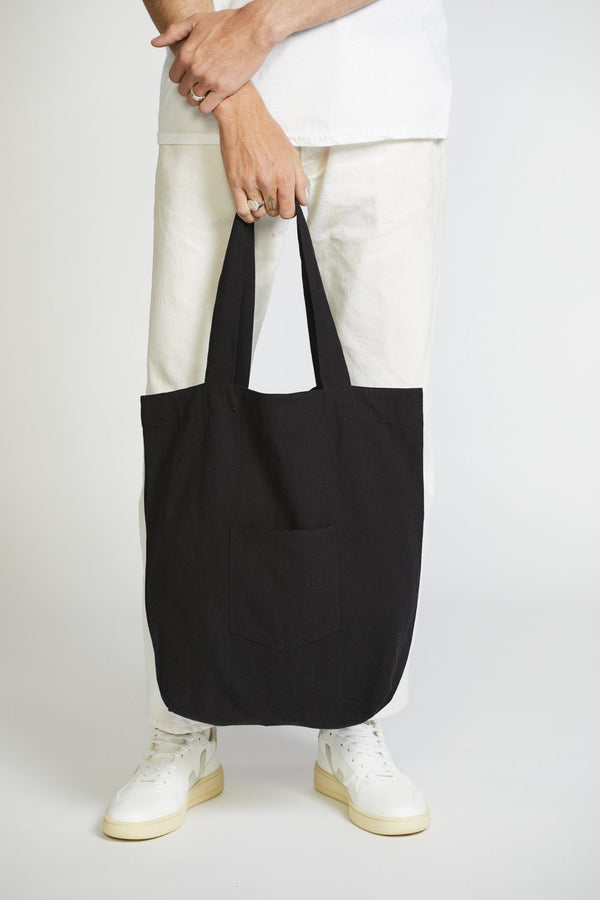 Commuter Tote Charcoal-Bags-Worktones-UPTOWN LOCAL