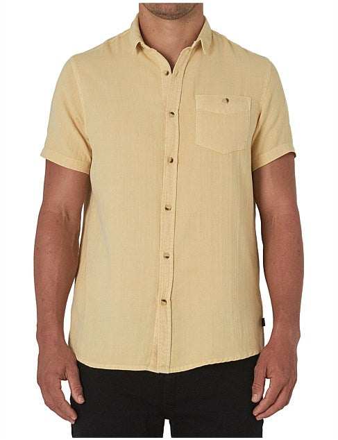 Men At Work SS Herringbone Shirt Faded Sun-Shirts-Rolla's-UPTOWN LOCAL