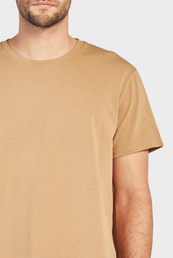 Roth Tee - Tan-T-Shirts-The Academy Brand-S-UPTOWN LOCAL