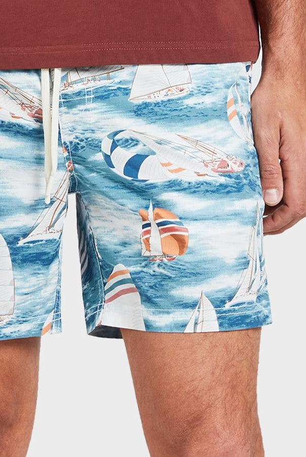 Holiday Boardy - Blue-Shorts-The Academy Brand-30-UPTOWN LOCAL