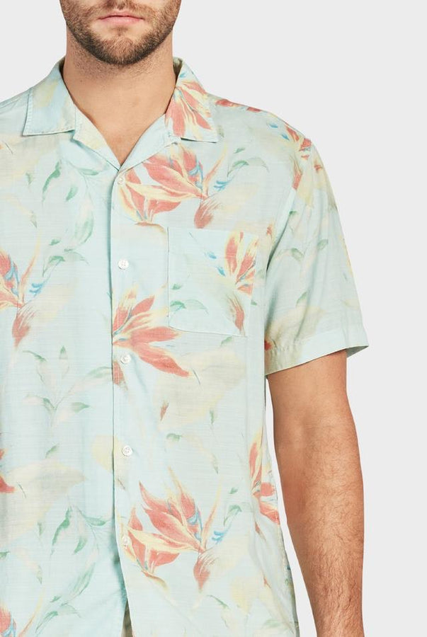 Nelson S/S Shirt - Multi-Shirts-The Academy Brand-S-UPTOWN LOCAL
