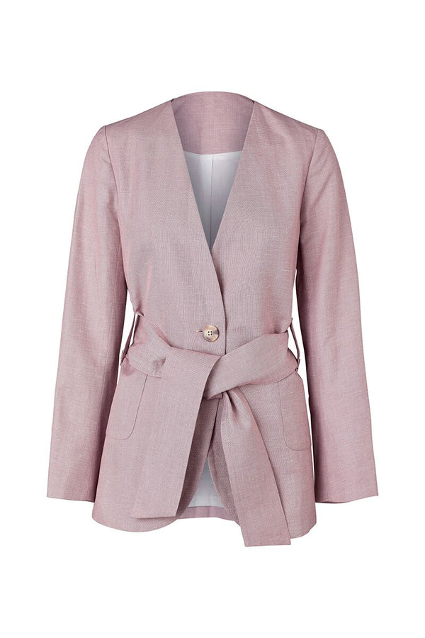 Stella Jacket Mauve-Jackets-Elka Collective-UPTOWN LOCAL
