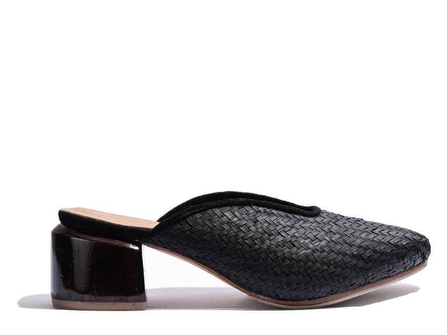 Cafe Society Black Rattan-Shoes-James Smith-36-UPTOWN LOCAL