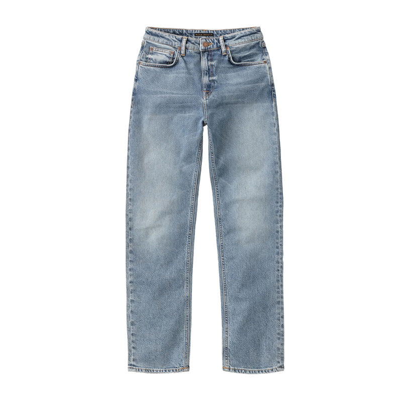 Straight Sally Loving Twill-Denim-Nudie Jeans-UPTOWN LOCAL