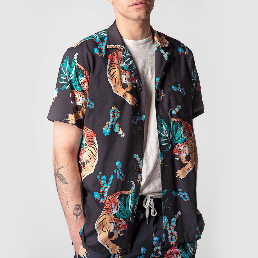 Hawaiian Tiger Camp Shirt-Shirts-Bather-S-UPTOWN LOCAL