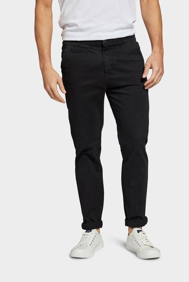 Cooper Chino Black-Pants-The Academy Brand-UPTOWN LOCAL