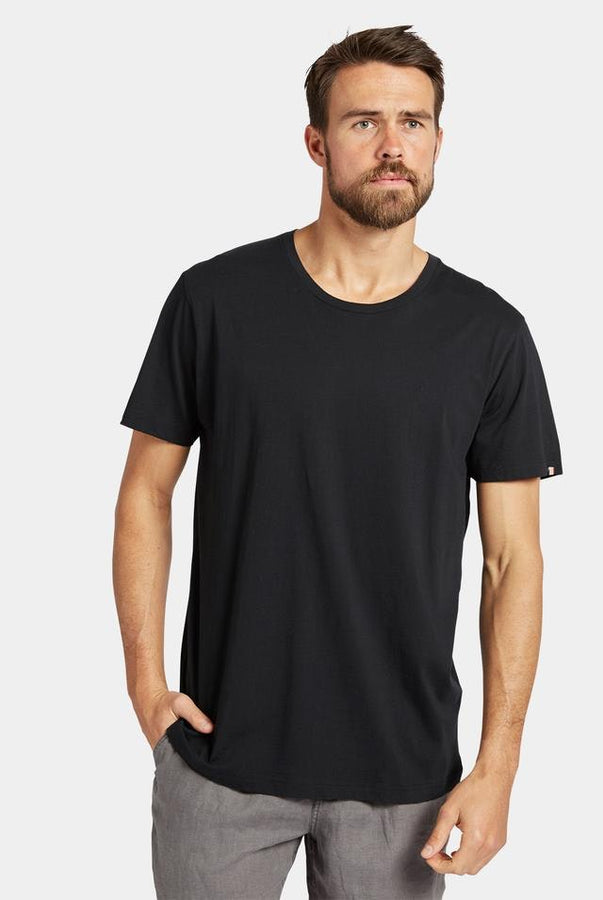 Acad Basic Crew Tee Black-T-Shirts-The Academy Brand-UPTOWN LOCAL