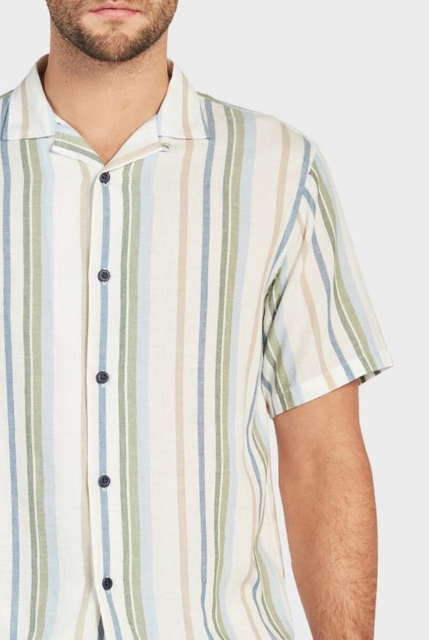 Lou S/S Shirt-Shirts-The Academy Brand-S-UPTOWN LOCAL