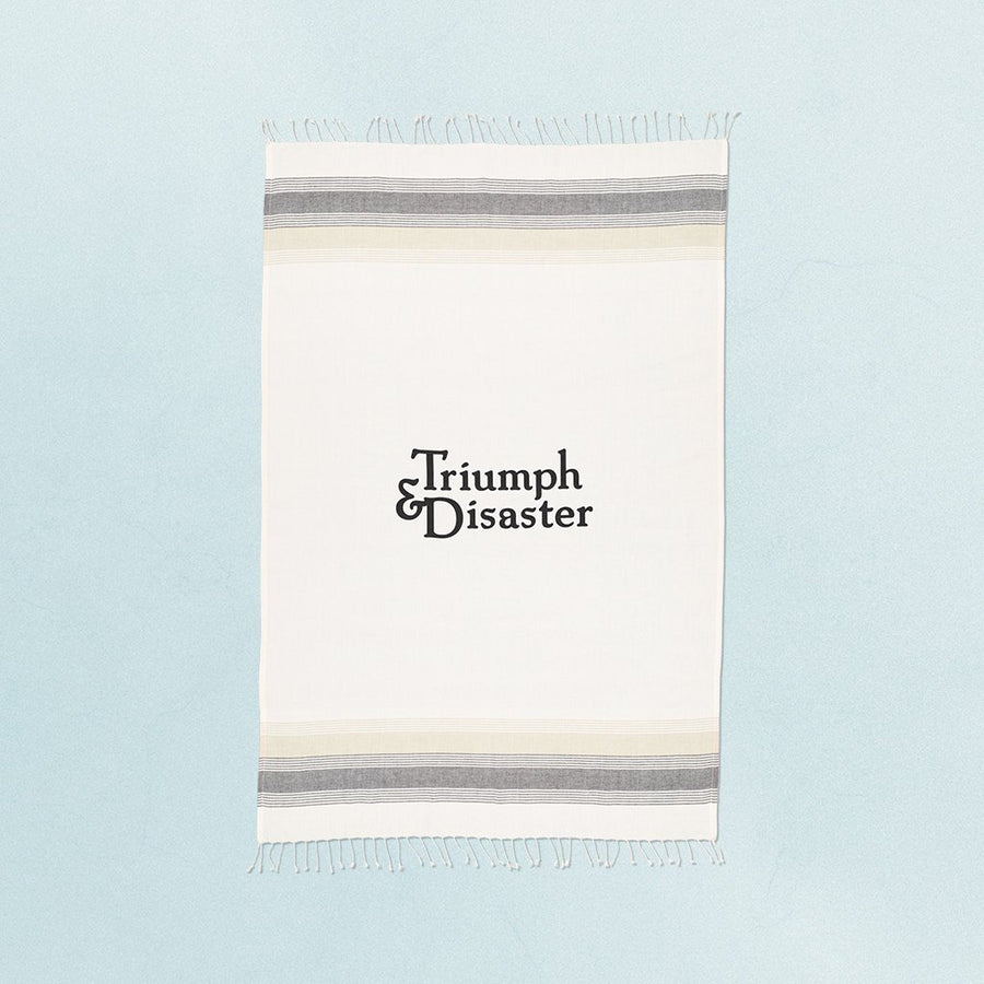 T&D Beach Towel-UPTOWN LOCAL-UPTOWN LOCAL