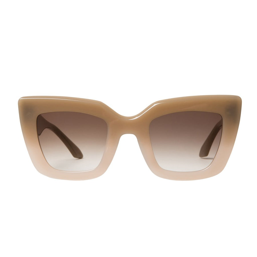 Brigada - Toffee Fade to Ivory / Brown Gradient Lens-Sunglasses-Valley-UPTOWN LOCAL