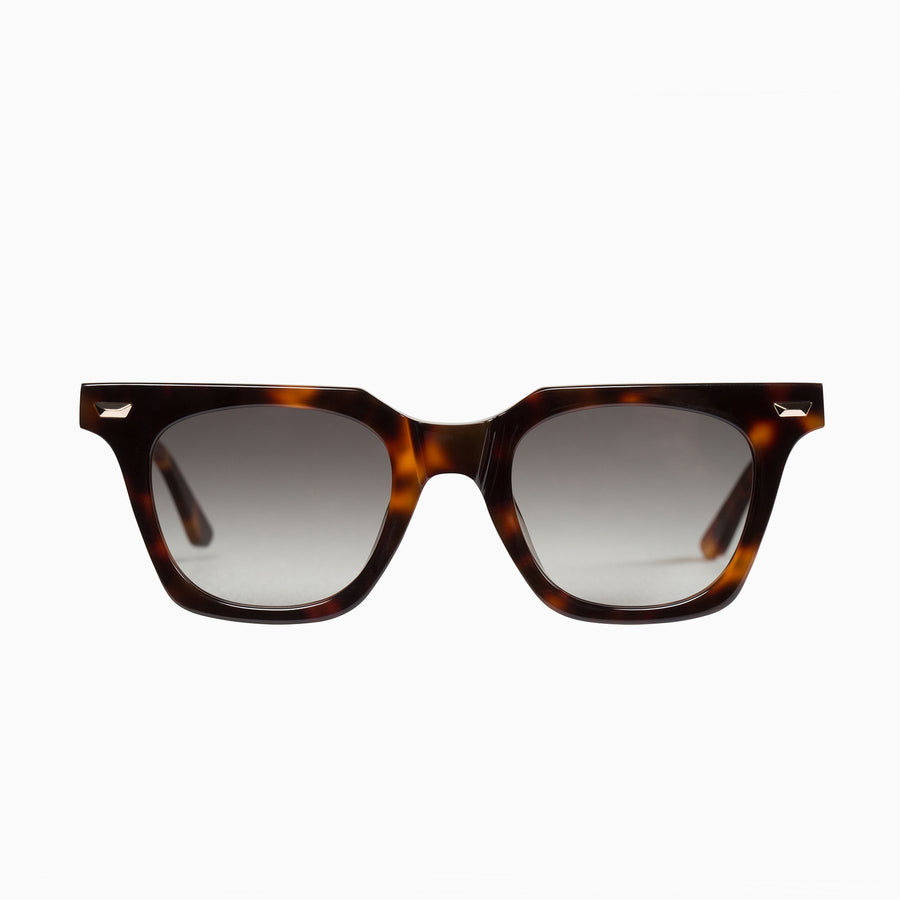 Dylan Kain - Vintage Tort w. 24k. Gold Metal Trim / Black Gradient Lens-Sunglasses-Valley-UPTOWN LOCAL