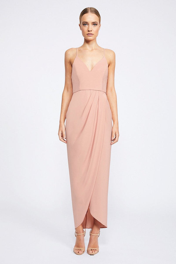 Core Cocktail Dress - Click to veiw more colours.-Dresses-Shona Joy-6-Dusty Pink-UPTOWN LOCAL