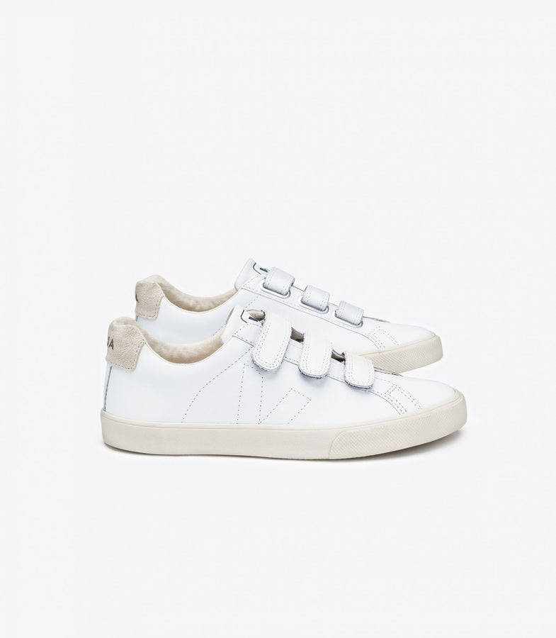 Esplar Leather 3 LOCK - White-Shoes-Veja-36-UPTOWN LOCAL