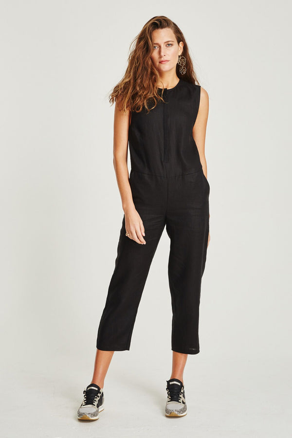 Frida Jumpsuit Black
