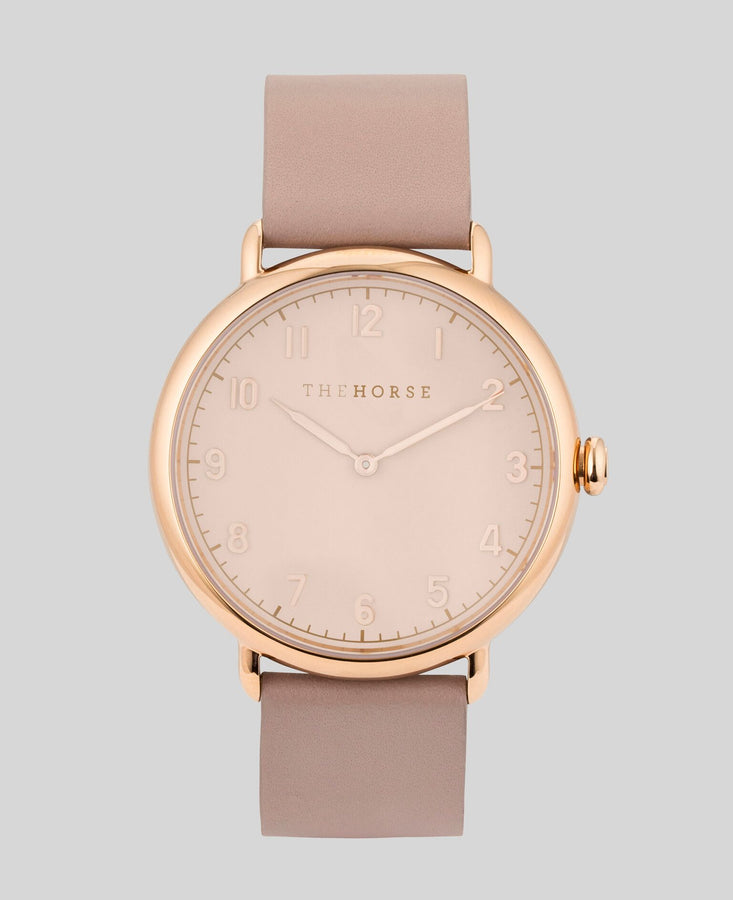 The Heritage Polished Rose Gold / Blush Dial / Blush Band-Watch-The Horse-UPTOWN LOCAL