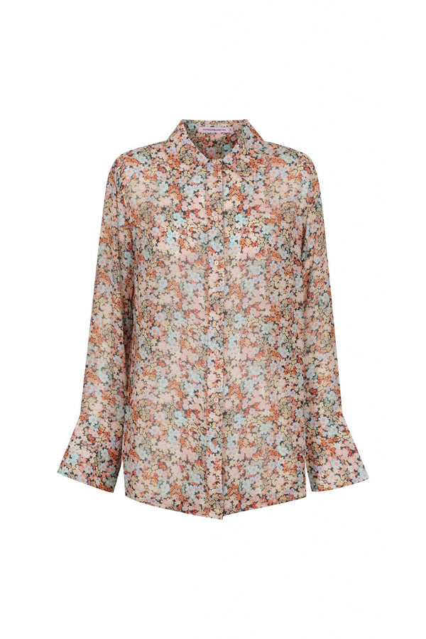 Jules Shirt - Bloom Floral-Tops-Hansen and Gretel-XS-UPTOWN LOCAL